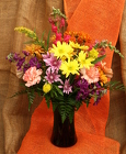 Classic Fall Vase from Mischler's Florist and Greenhouses in Williamsville, NY