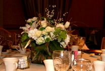 Crystal Cube Centerpiece from Mischler's Florist and Greenhouses in Williamsville, NY
