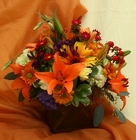 Fall Cube from Mischler's Florist and Greenhouses in Williamsville, NY