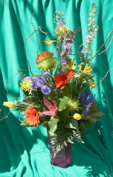 Stylized Spring Bouquet from Mischler's Florist and Greenhouses in Williamsville, NY