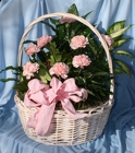 Basket Planter Pastel from Mischler's Florist and Greenhouses in Williamsville, NY