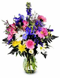 Spring Sparkle from Mischler's Florist and Greenhouses in Williamsville, NY