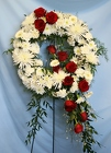 Sympathy Wreath from Mischler's Florist and Greenhouses in Williamsville, NY