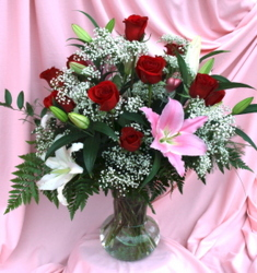 Ultra Romantic Dozen Roses from Mischler's Florist and Greenhouses in Williamsville, NY
