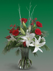 Winter Elegance from Mischler's Florist and Greenhouses in Williamsville, NY