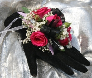 Wrist Corsage from Mischler's Florist and Greenhouses in Williamsville, NY