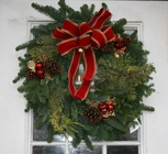 Christmas Wreath from Mischler's Florist and Greenhouses in Williamsville, NY